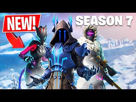 *NEW* Fortnite Season 7 Live Gameplay! (Fortnite Season 7 New Map)