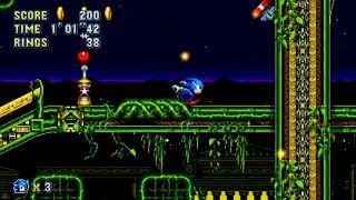 Sonic Mania X Sonic CD // Stardust Speedway (Act 2) // @GetAtLil_5tev3