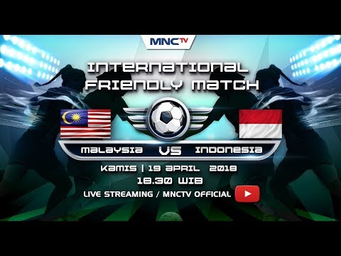 MALAYSIA VS INDONESIA - (FT : 4-1) International Friendly Match 2018