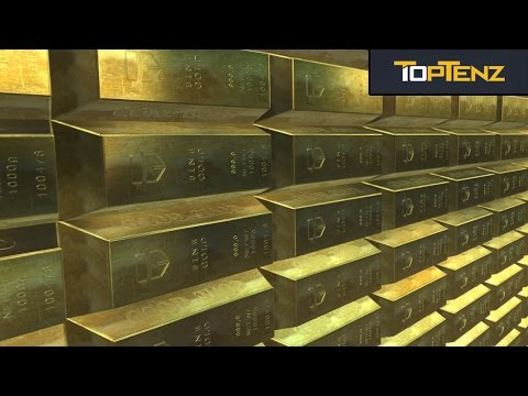 Top 10 TREASURES Lost In The MISTS Of Time
