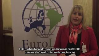 La Eurodiputada Karoline Graswander-Hainz apoya la paz en Colombia