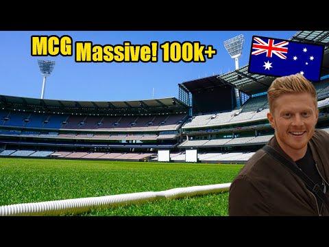 MCG! MELBOURNE Cricket Ground - Stadium Tour #1 - Capacity Over 100,000!