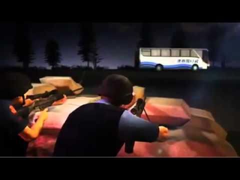 Recreated Video of hostage bus drama in Philippines, Manila, Rolando Mendoza.mp4