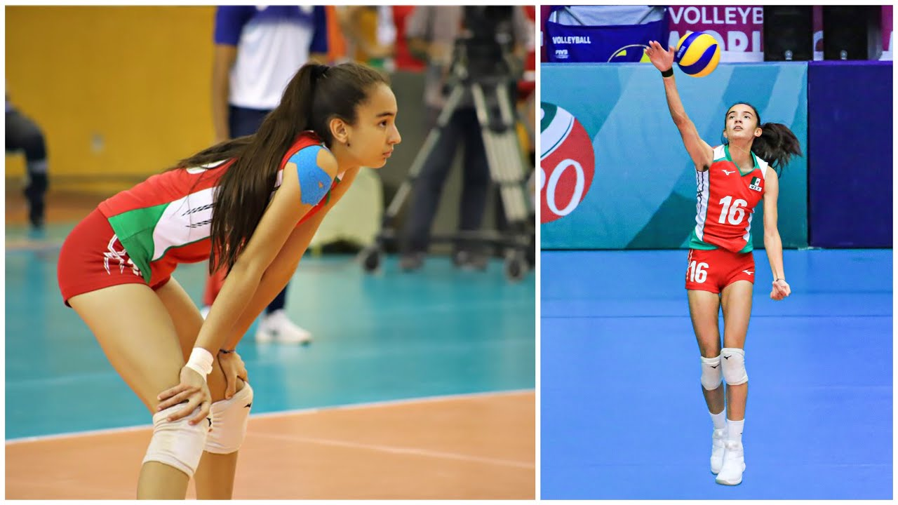 16 Years Old Young Volleyball Player Melanie Parra   The Future of Volleyball (HD)