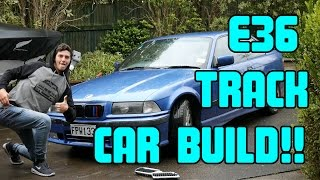 Value for money E36 track car build | Gutting the interior | Part 1