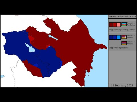 (Outdated, Impossible) Armenian-Azerbaijani War: Every Day (Alternative Future)