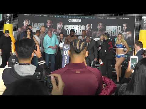Fireworks!!  CHARLO LUBIN WEIGHT INS AND FACEOFFS