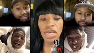 NBA Youngboy Mom Claps Back After He Claims She Wasn't Around!