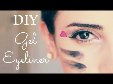 DIY Gel Eyeliner - YouTube