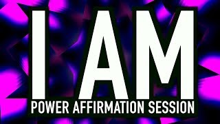 I AM | Power Affirmations + Binaural beats | You Create Your Reality | LISTEN TO THIS DAILY!