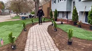 Gambar cover FRONT YARD LANDSCAPING DESIGN (TIME-LAPSE)