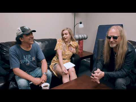 ALICE IN CHAINS: Jerry Cantrell & Mike Inez on Rainier Fog, Black Antenna & Layne Staley Day!