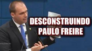 ➜ Eduardo Bolsonaro escracha Paulo Freire e desmascara Jandira Feghali