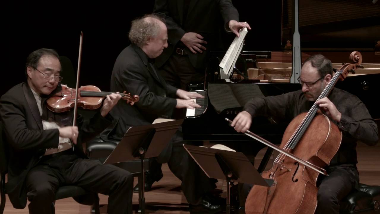 Brahms Trio in C Major for Piano, Violin, and Cello, Op. 87, IV. Finale: Allegro giocoso