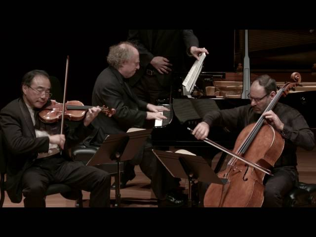Brahms: Trio in C Major for Piano, Violin, and Cello, Op. 87, IV. Finale: Allegro giocoso