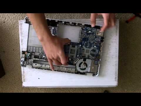 HP Laptop Repair (Tear-down / Bottom Case Replacement)