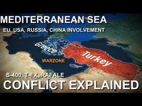 Konflik Turki-Yunani    Sengketa Laut Mediterania 2021    The Economix