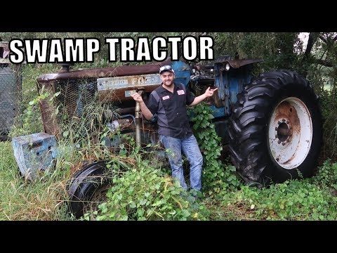 WILL IT START Episode 7! FORD 8700 Tractor Sitting 18 YEARS!!