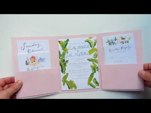 Shelly and Seth; Custom wedding stationery, wedding map, brunch card, bonfire card