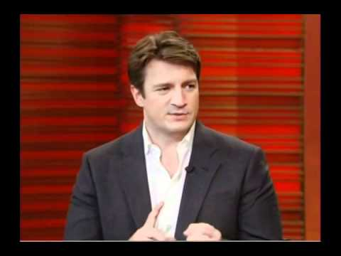 Nathan Fillion on Live! with Kelly