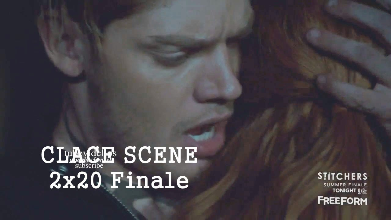shadowhunters 2x20 jace saves clary from death clace scene
