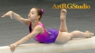 AUSIANNIKAVA Darya (BLR) BB AA Junior - 2018 Ukraine International Cup