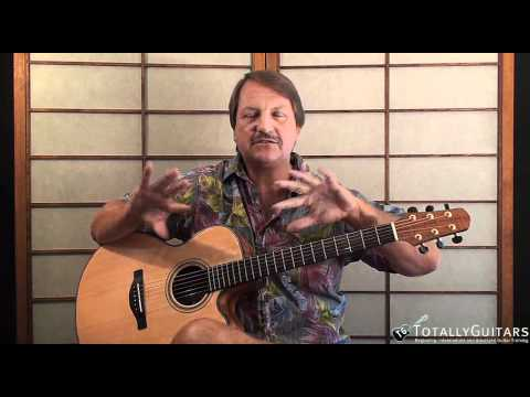 Black Water Acoustic Guitar Lesson Doobie Brothers Youtube