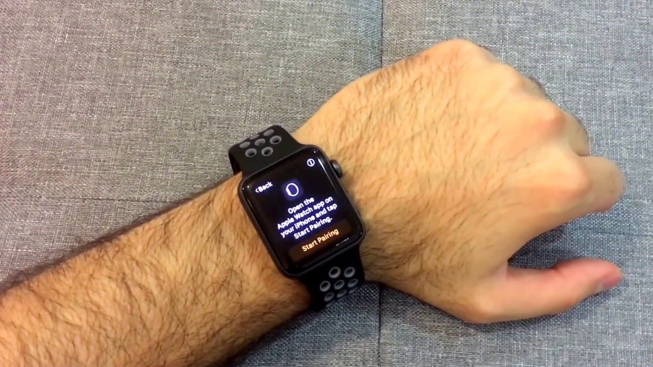 e6e52d79bb5cff Apple Watch Nike+ Space Gray Unboxing - YouTube