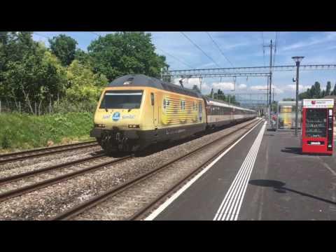 Chambésy, Nyon et Genève le 21 mai 2017 - Transports Publics Suisses