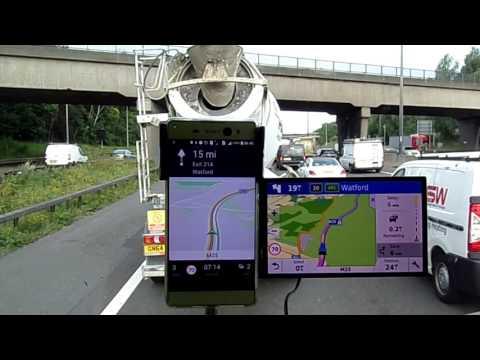 HERE we GO satnav vs Garmin drivesmart 61 LM TD Europe