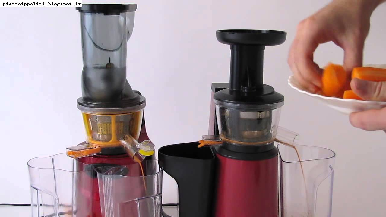 Slow Juicer Vs Rasaftcentrifug : Klarstein Fruitpresso 2G SlowJuicer vS OneConcept Jimmie Andrews #1573 on Go Drama