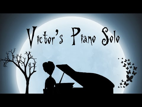 """Victor's Piano Solo""  Tim Burton's Corpse Bride HD Piano Cover, Movie"
