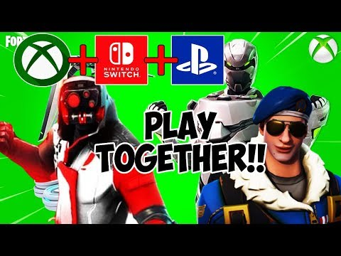 How To CROSS PLATFORM ALL CONSOLES In Fortnite! (New Fortnite PS4, Xbox One Crossplay Settings)