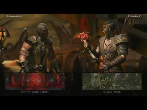 Mortal Kombat X - Online Matches
