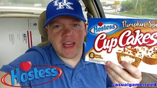 Reed Reviews Hostess Pumpkin Spice Cup Cakes