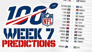 NFL 2019 Week 7 Predictions w/Steel Maiden!