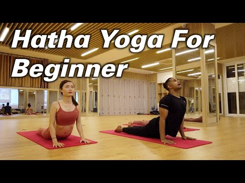 40-Minutes Yoga At Home For Beginner Based On Hatha Yoga Flow | Yograja | Yoga Hanoi Vietnam