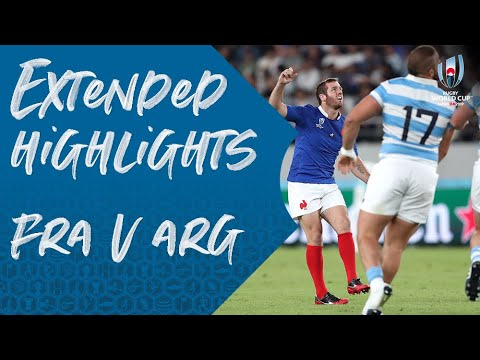 Extended Highlights: France 23-21 Argentina - Rugby World Cup 2019