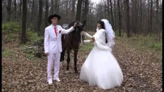 Осенняя Свадебная прогулка.  Артур и Наталья. Вторая версия.