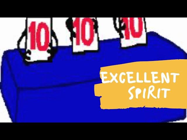 Excellent Spirit (Daily Devo 10)