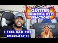 QUITTER - EMINEM | THIS IS THE GREATEST DISS EVER | REACTION