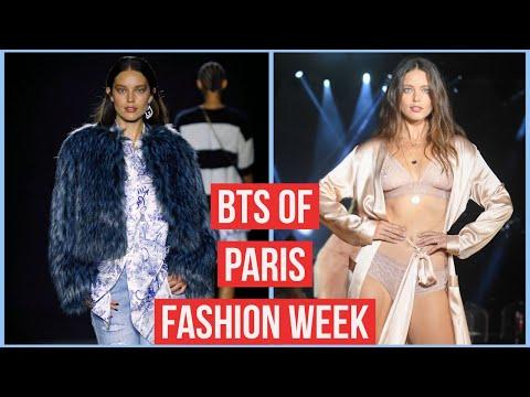Paris Fashion Week VLOG 2019! Backstage, BTS + More   Emily DiDonato