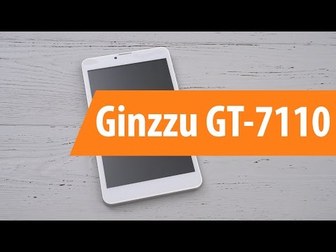 Распаковка Ginzzu GT-7110 / Unboxing Ginzzu GT-7110