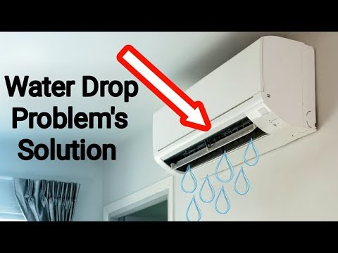 How to Remove water leaking in air conditioning