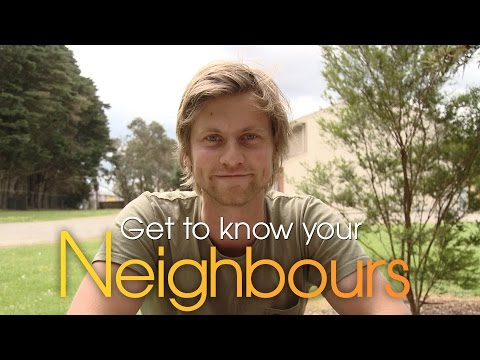 Tim Phillipps Daniel  Get to know your Neighbours