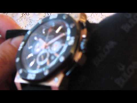 2c77dd704 BULOVA 98B118 - YouTube