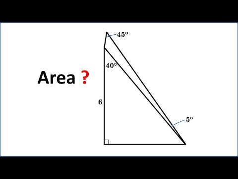 Homework In China - Area ABCD = ? Learn The Amazing Trick!