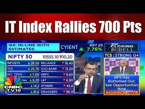NSE Closing Bell | IT Index Rallies 700 Pts | 20th April | CNBC TV18