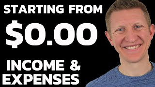 Starting From ZERO Dollars | Income and Expenses Tracking | Weekend Training Session