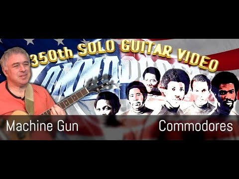 Machine Gun - Commodores - Fingerstyle Guitar Cover - Jake Reichbart